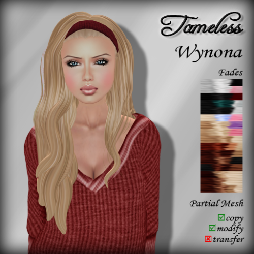 Tameless Hair Wynona - Fades