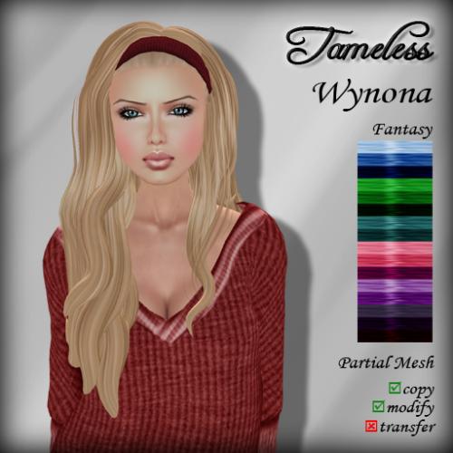 Tameless Hair Wynona - Fantasy