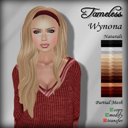 Tameless Hair Wynona - Naturals